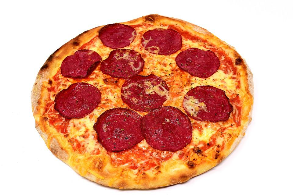 Pizza, Salami, Food, Cheese, Italian, Pizza Topping
