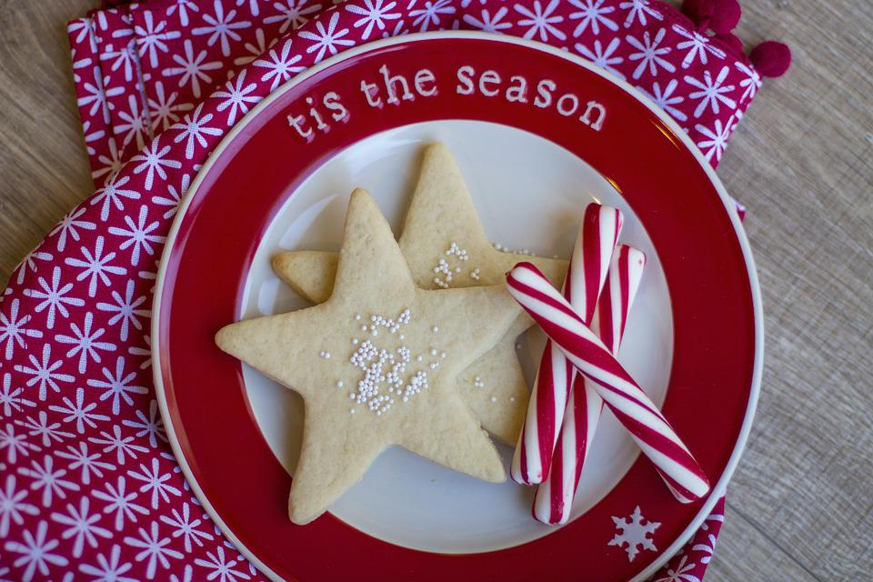 Christmas, Cookie, Peppermint, Holiday, Food, Dessert