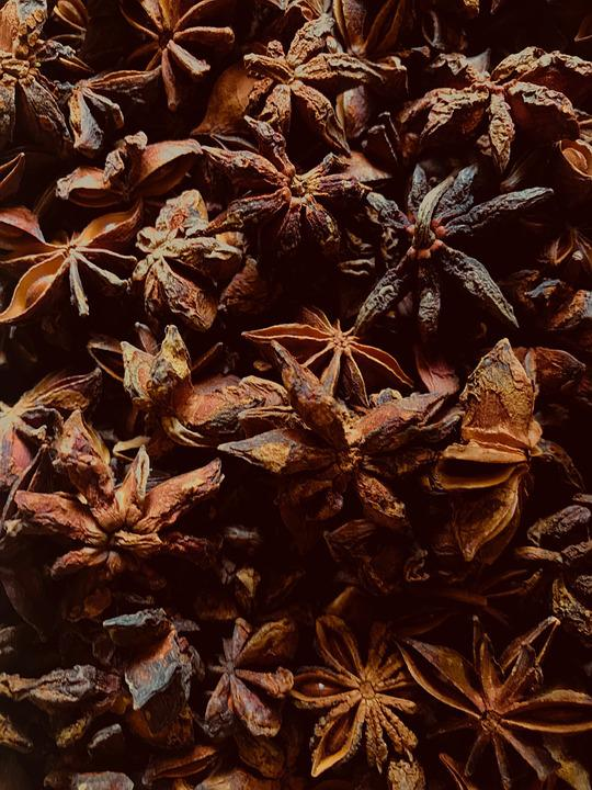 Anise, Starry, Spices, Cinnamon, Aroma, Food, Christmas