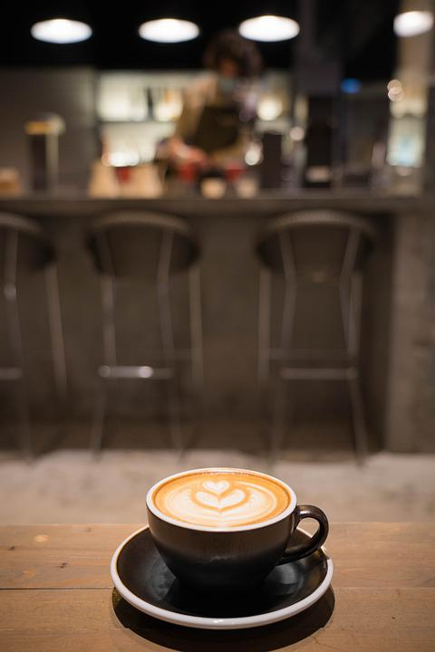 Coffee, Cafe, Food, Drink, Cup, Beverage, Cappuccino