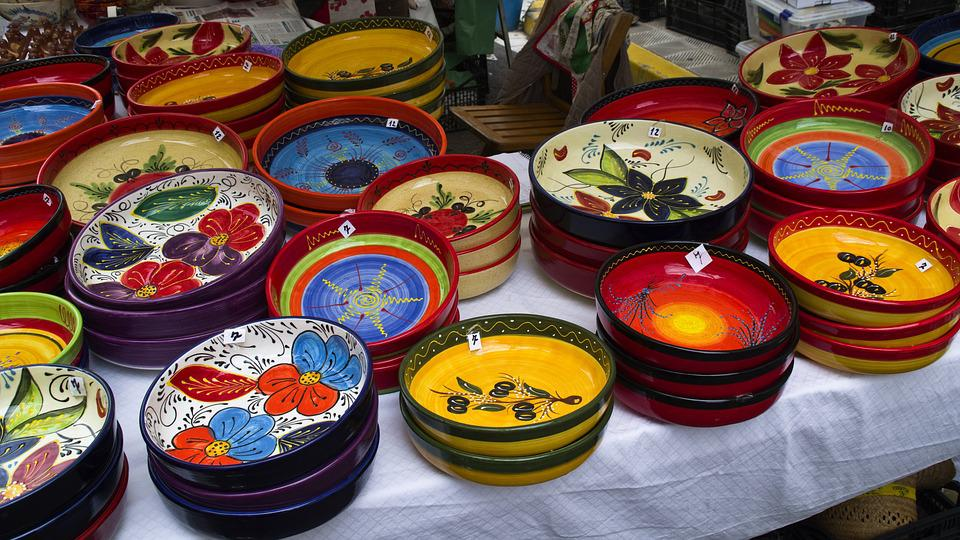 Business, Traditional, Color, Market, Crafts, Food
