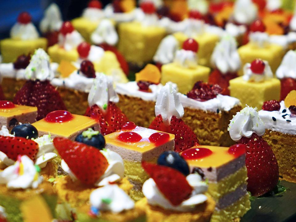 Cakes, Cream, Delicious, Confectionery, Food, Sweet