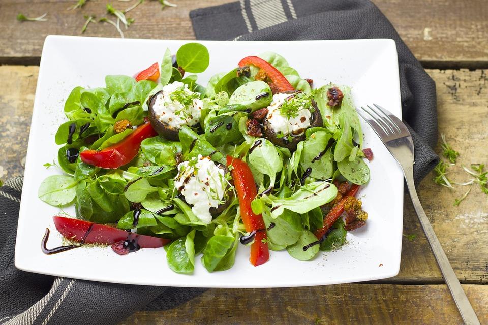 Food, Vegetables, Salad, Healthy, Meal, Gourmet, Diet