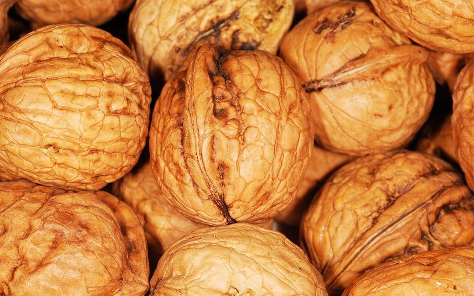 Walnuts, Nuts, Food, Snack, Healthy, Nutrition, Diet