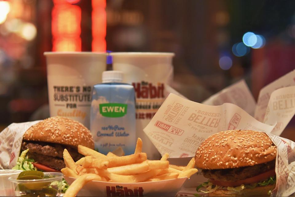 Food, Hamburger, Dinner