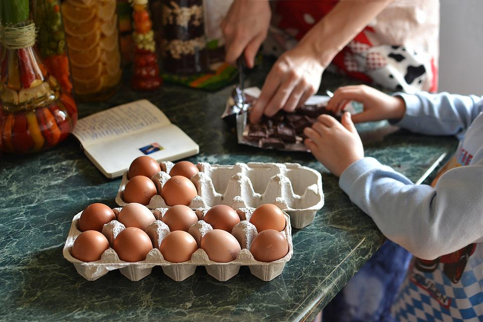 Food, Table, Egg, Hand, Natural, Cooking, Easter
