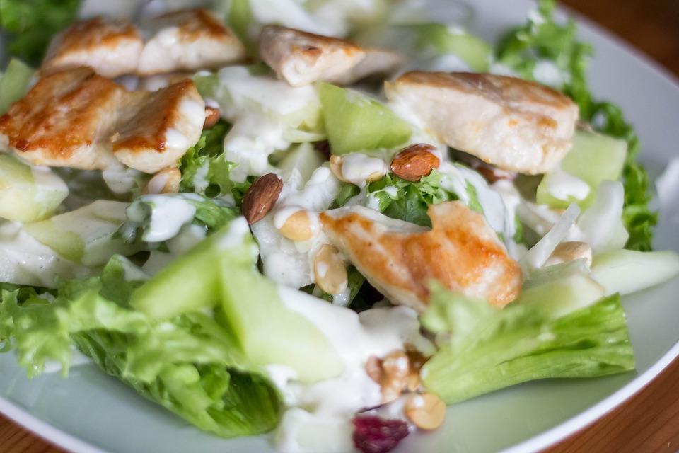 Salad, Eat, Food, Court, Simply, Frisch