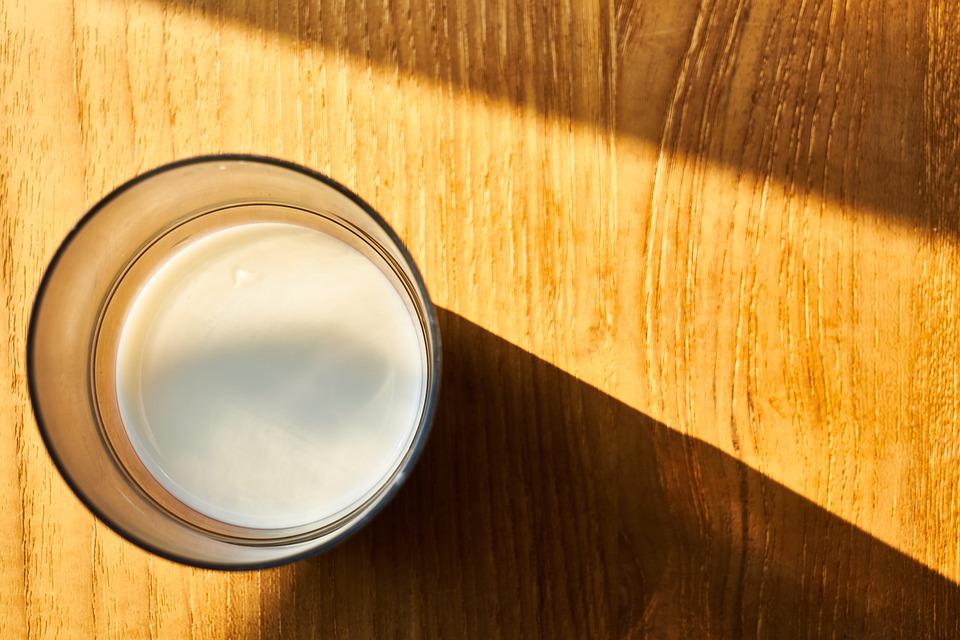 Free Photo Food Fresh Milk Glass White Good Morning Healthy Max Pixel