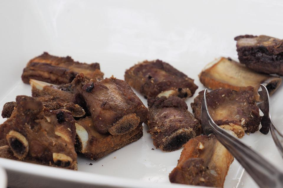 Pork Ribs, Fried, Seasoning, Food, Foodstuff, Pig, Rib