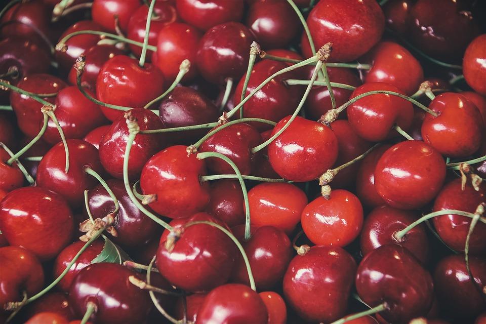 Food, Cherry Wood, Fruit, Fresh, Delicious, Cherries