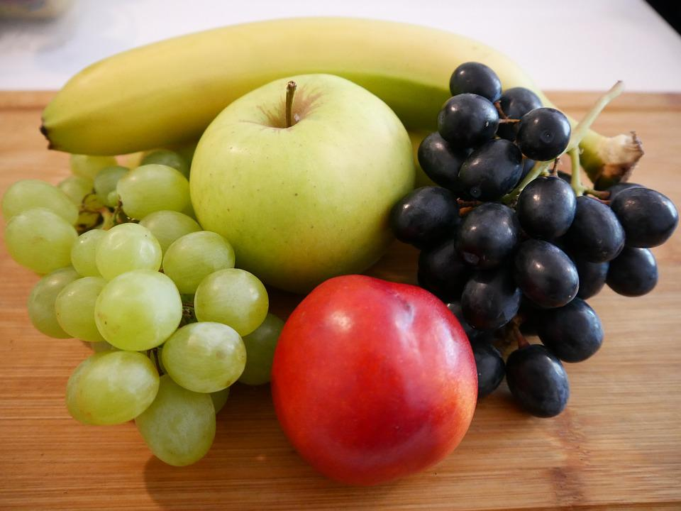 Fruit, Banana, Apple, Healthy, Food, Fresh, Fruits