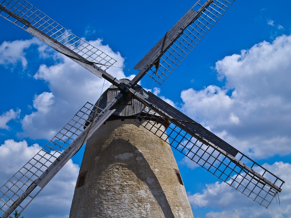 Windmill, Force Of Nature, Grain, Grind, Flour, Food