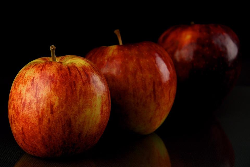 Fruit, Eating, Apple, Fit, Health, Diet, Food, Tasty