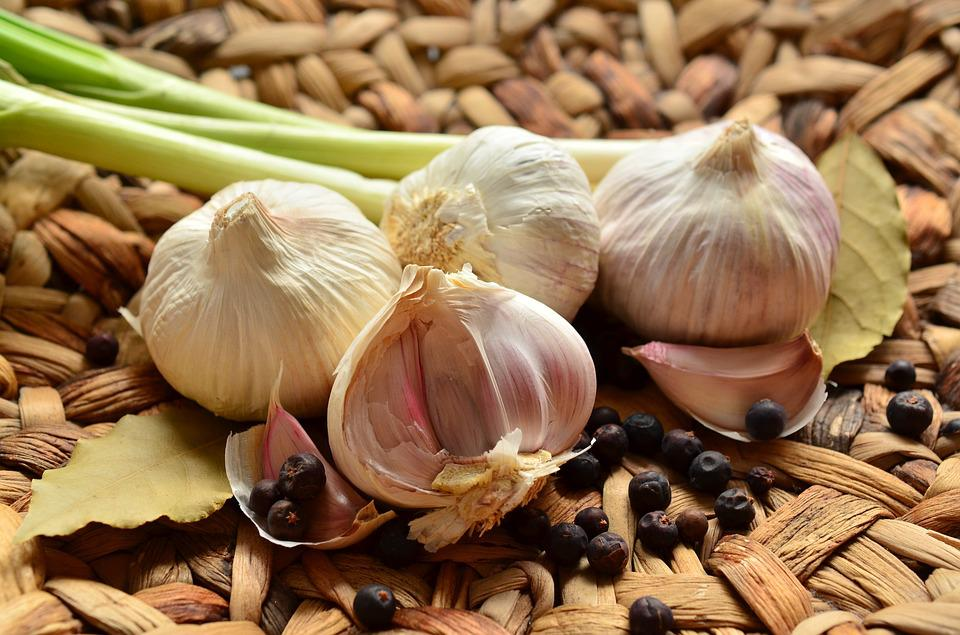 Garlic, Tubers, Herb, Smell, Healthy, Aromatic, Food