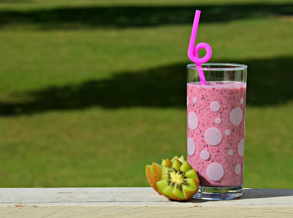 Smoothie, Healthy, Fruit, Food, Juice, Vegetarian