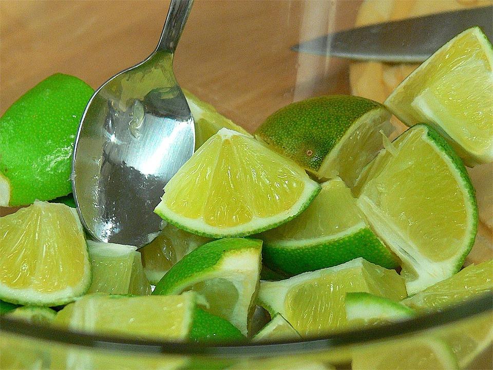 Lime, Lime Slices, Food, Eat, Edible, Lemon, Sour