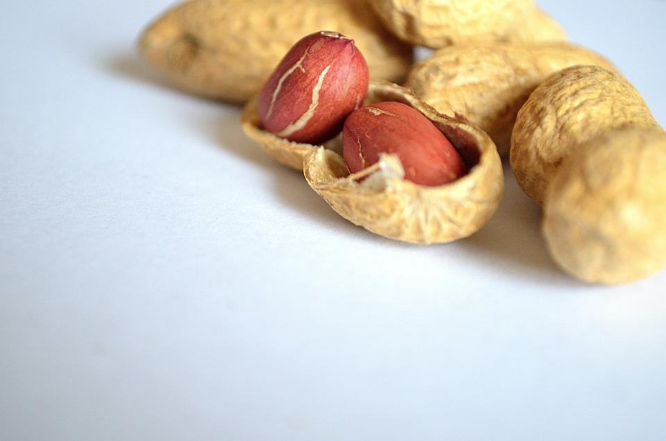 Food, Background, Health, Vitamins, Macro, Peanut