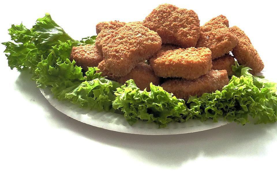 Chicken Nuggets, Poultry, Meat, Food, Chicken