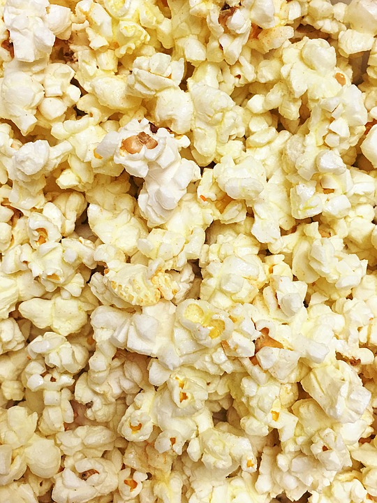 Popcorn, Snack, Treat, Food, Fun, Eat, Movie, Eating
