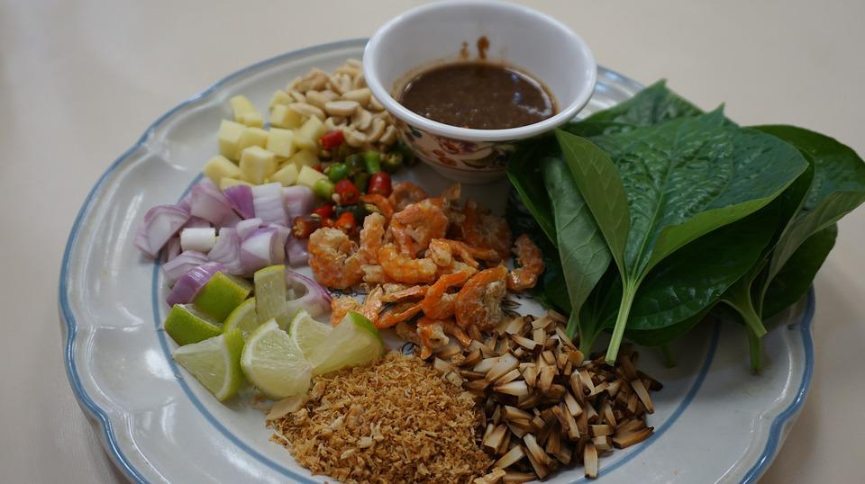 Miang Kham, Northern Thailand Dishes, Food