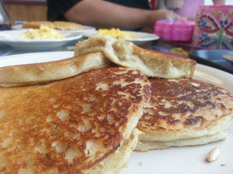 Pancakes, Vegan, Food, Breakfast, Restaurant, Morning