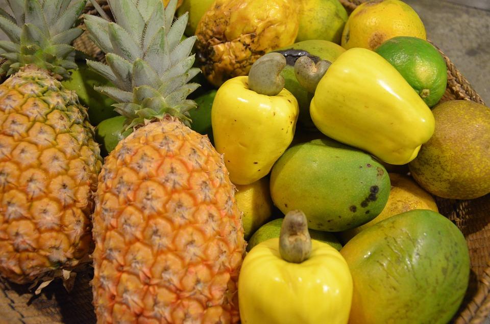 Fruit, Food, Pineapple