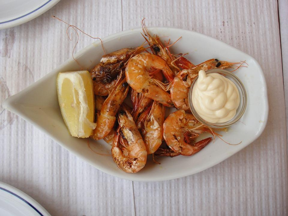 Prawns, Appetizer, Food