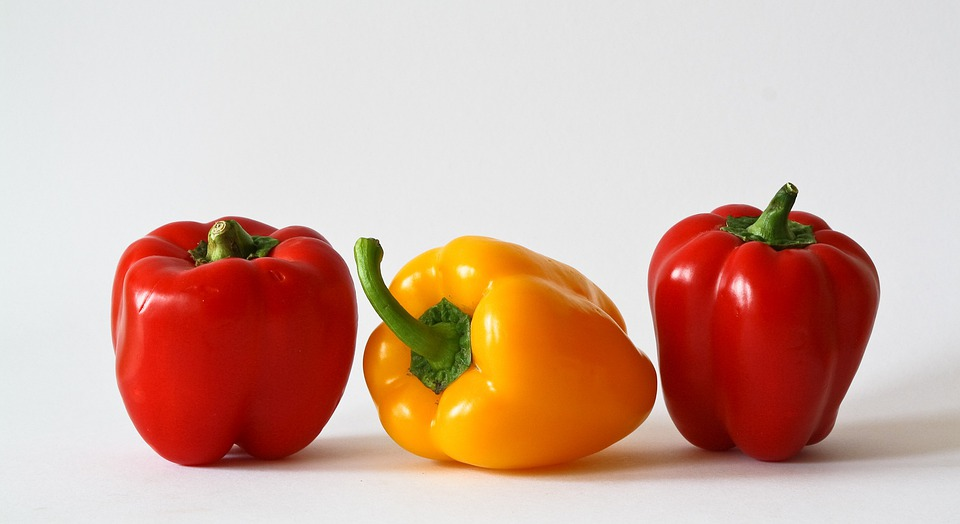 Paprika, Vegetables, Colorful, Food, Red Pepper