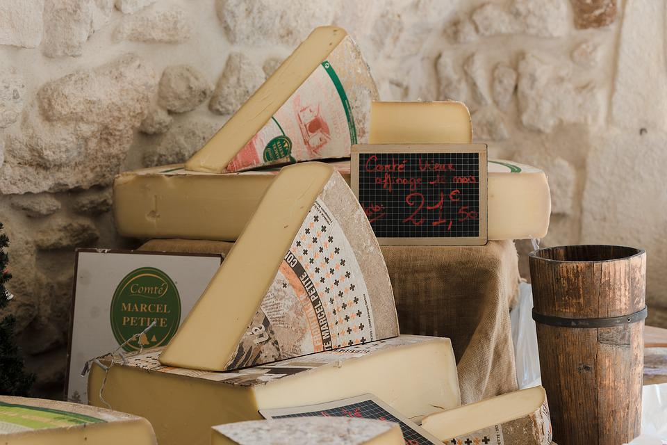 Cheeses, Emmental, Food, Dairy, Regional Products