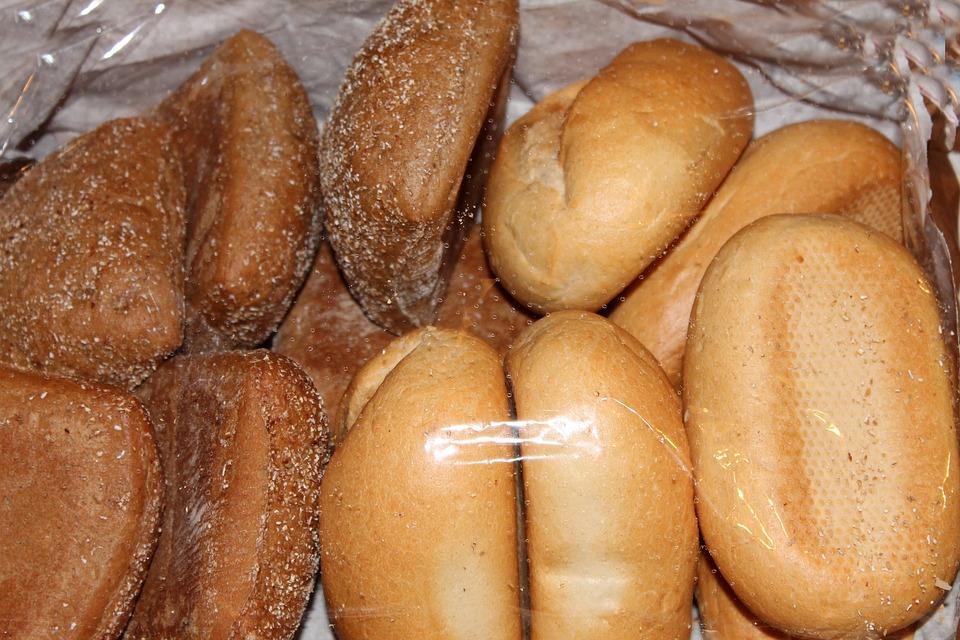 Roll, Weizenbroetchen, Breakfast, Cakes, Food