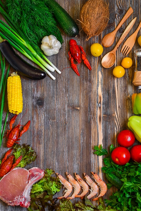 Food, Products, Rustic, Vegetables, Meat, Cooking