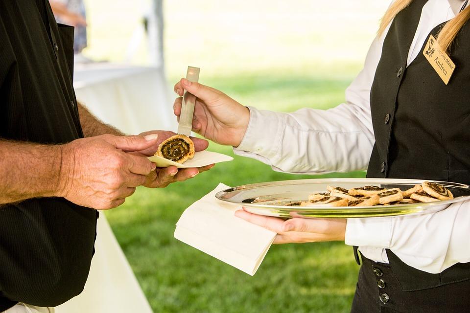 Food, Servers, Banquet, Waitress, Waiter, Server
