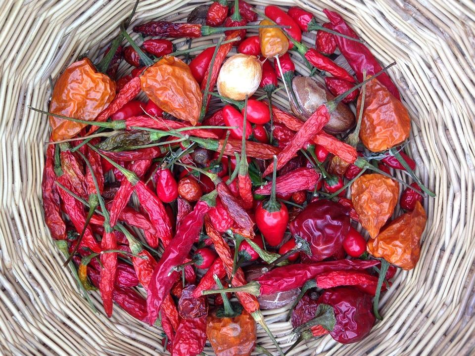 Chilli, Eat, Sharp, Red, Food