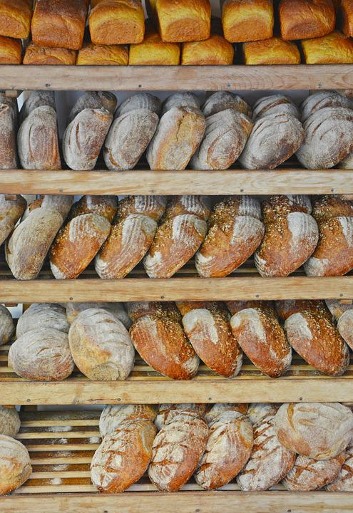 Bread, Shelf, Bakery, Food, Fresh, Loaf Of Bread