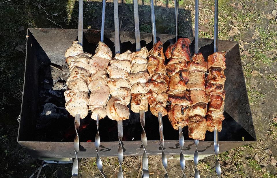 Shish Kebab, Mangal, Fried Meat, Food