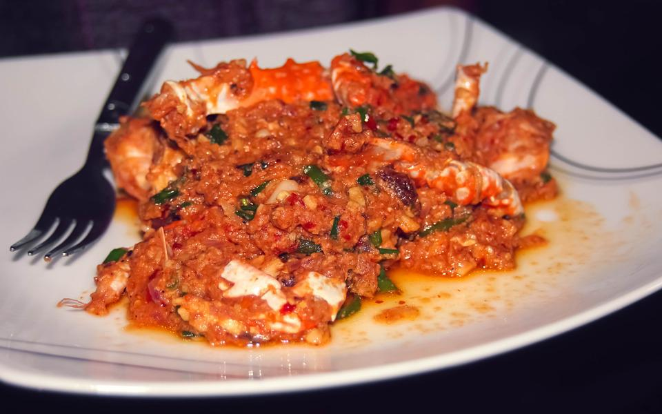 Crab, Curry, Food, Seafood, Cuisine, Asian, Spicy, Thai