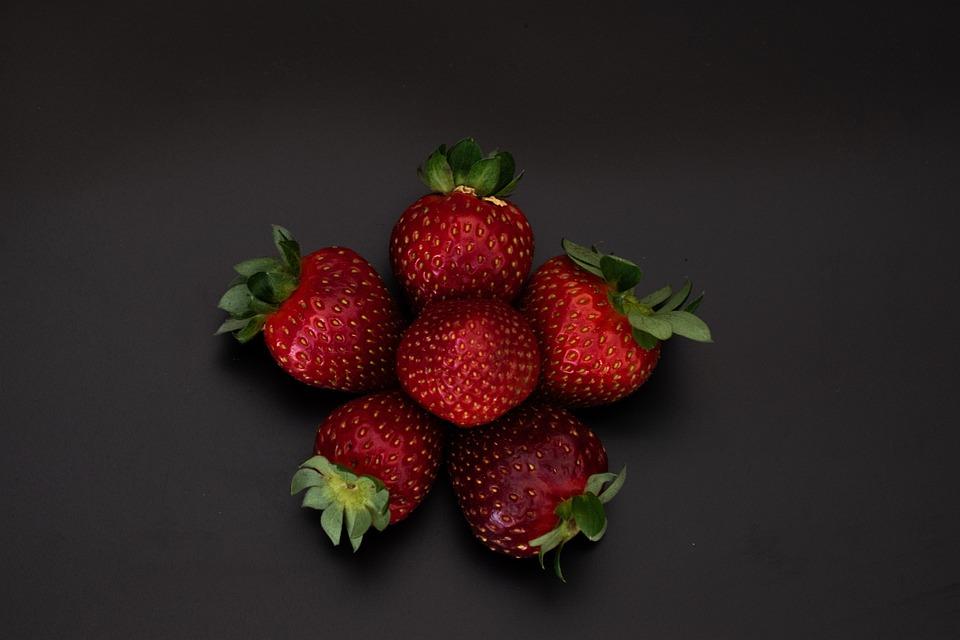 Food, Strawberries, Fruit, Red, Berries, Tasty