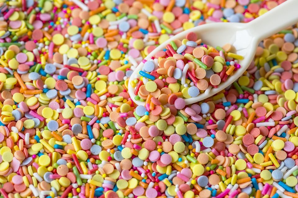 Candy, Sugar, Food, Batch, Many, Background, Bakery