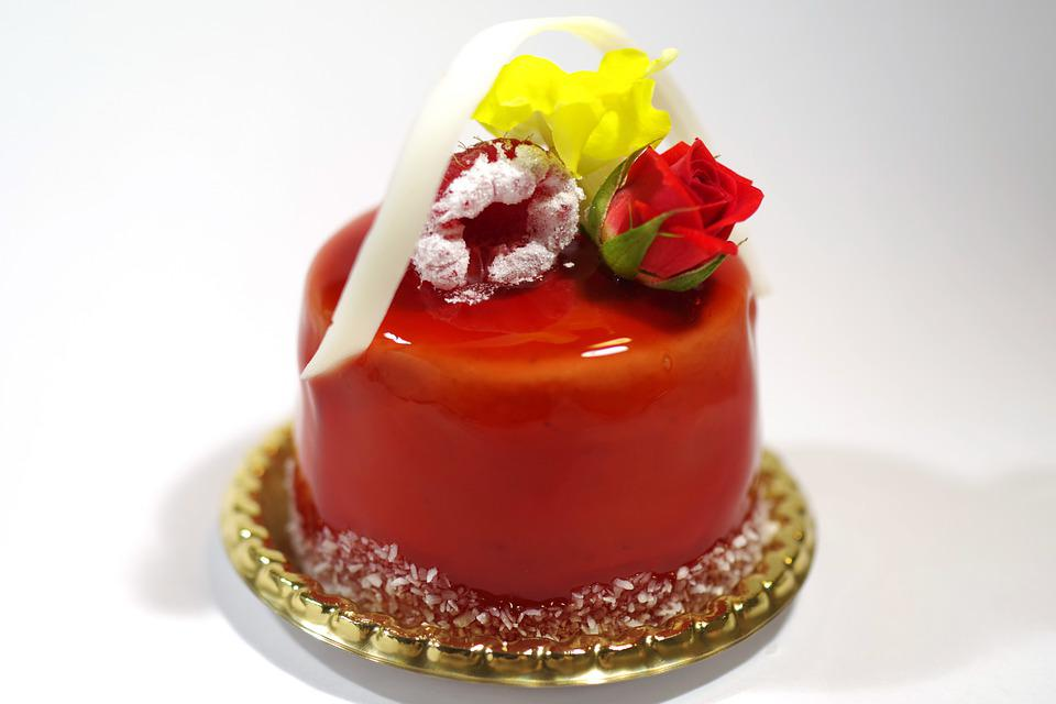Suites, Strawberry, Cake, Food, Sweet, Dessert