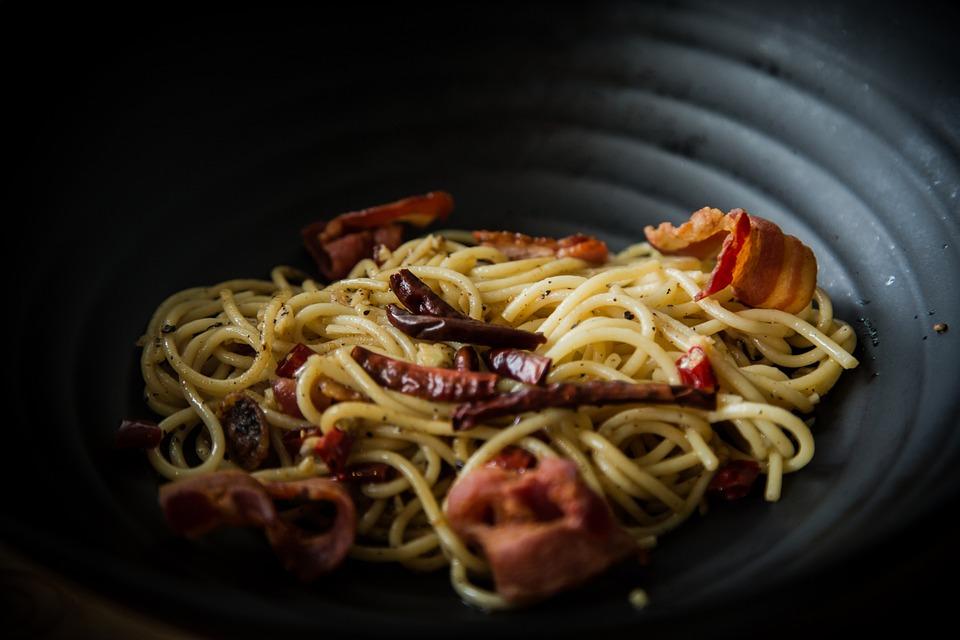 Surat Thani, Spaghetti, Food, Shop, Sky Hill, Testy