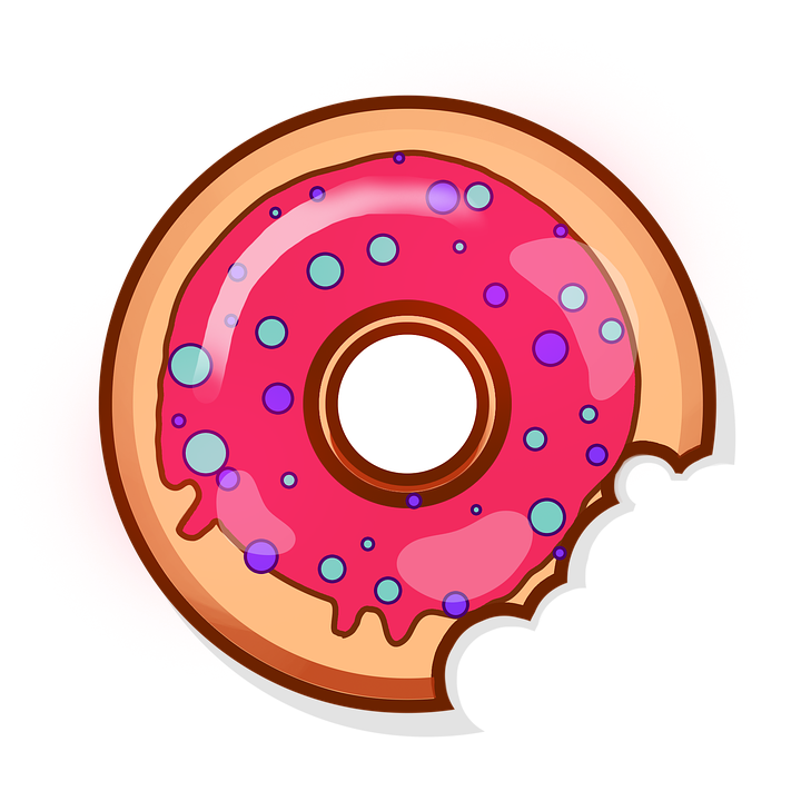 Donut, Sweets, Baking, Food, Tasty, Bun, Yummy, Icon