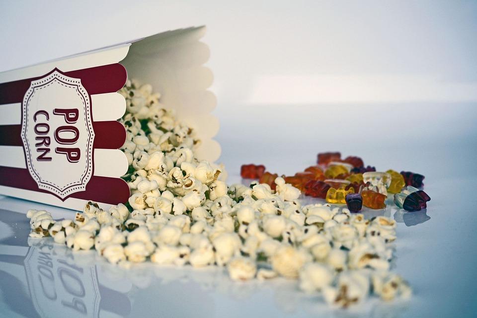 Popcorn, Snack, Cinema, Food, Tasty, Salty, Delicious