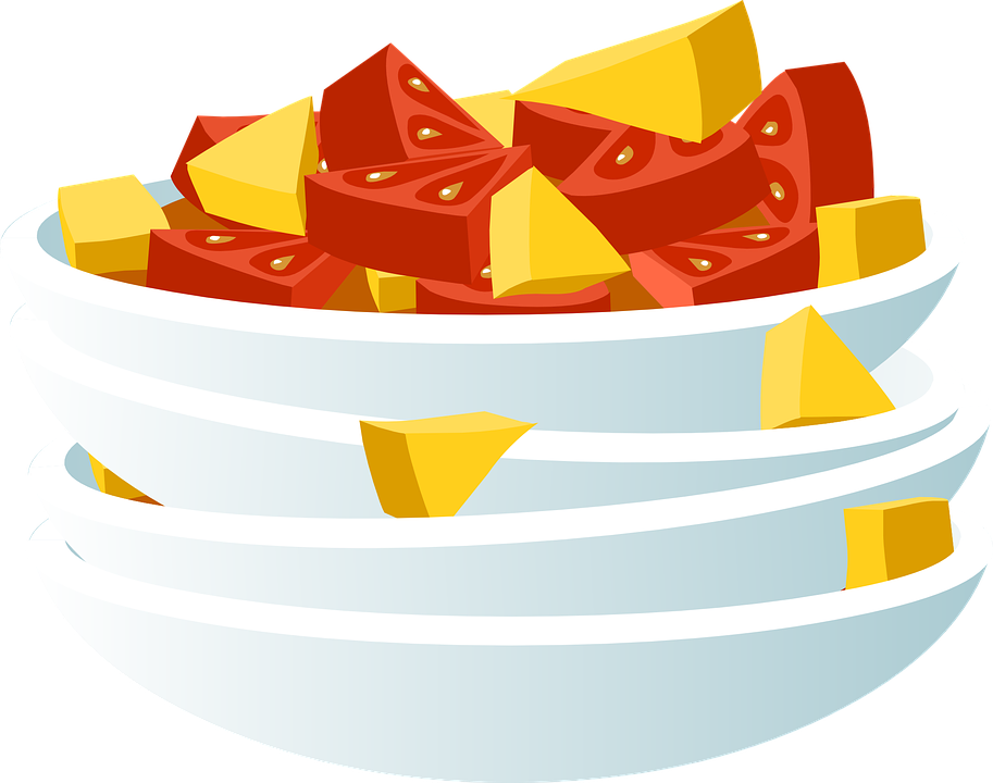 Food, Dish, Watermelon, Mango, Tasty, Seasonal