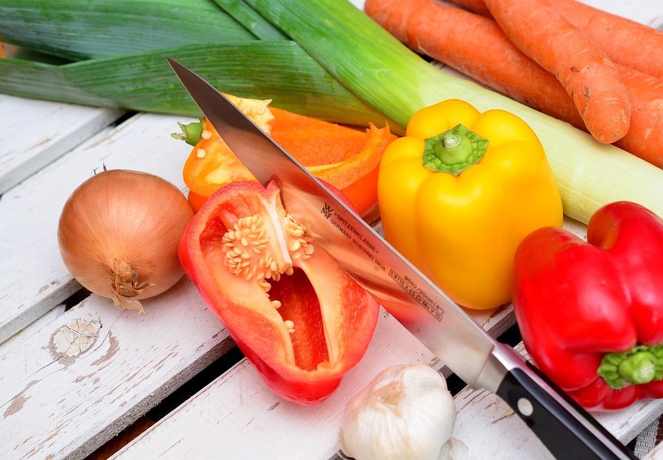 Vegetables, Paprika, Traffic Light Vegetable, Food, Eat