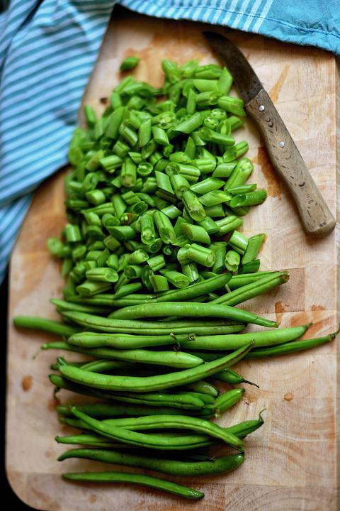 Beans, Green Beans, Vegetables, Pole Beans, Food, Green