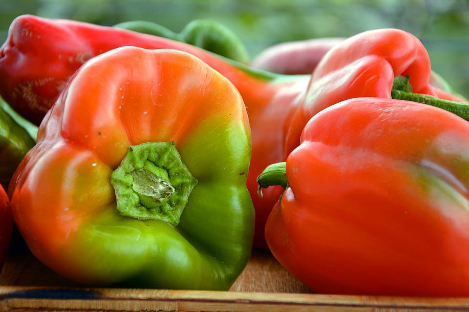 Paprika, Peppers, Pods, Vegetables, Sweet Peppers, Food