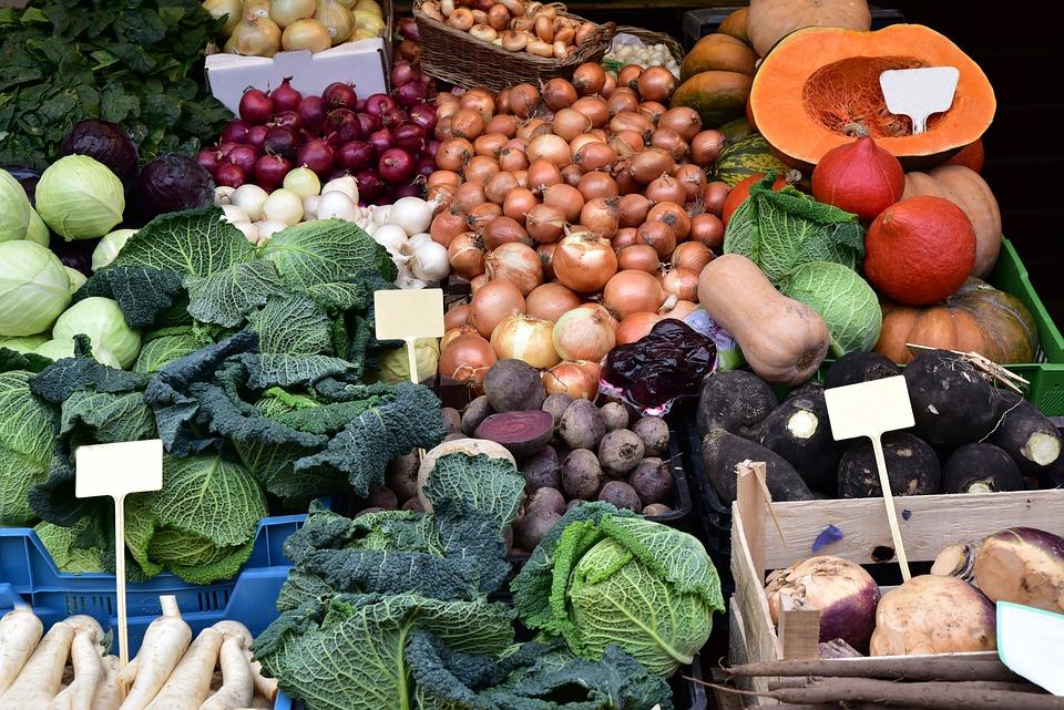 Vegetables, Winter Vegetables, Healthy, Food, Vitamins