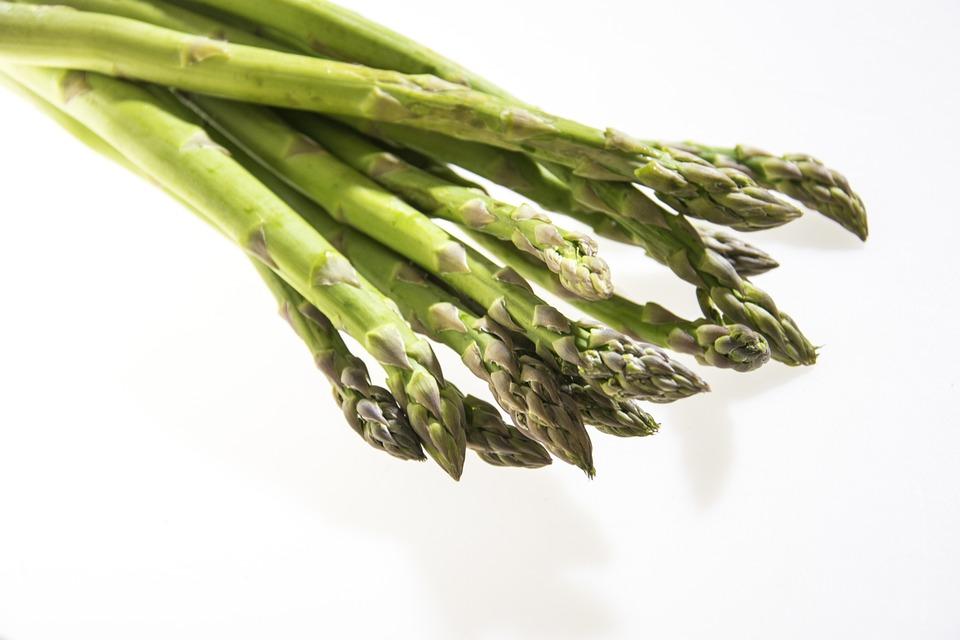 Asparagus, Vegetables, Green, Fresh, Vegetarian, Food