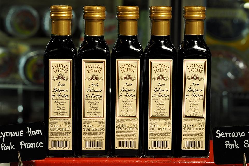 Vinegar Fermentation, Glass Bottle, Seasoning, Food