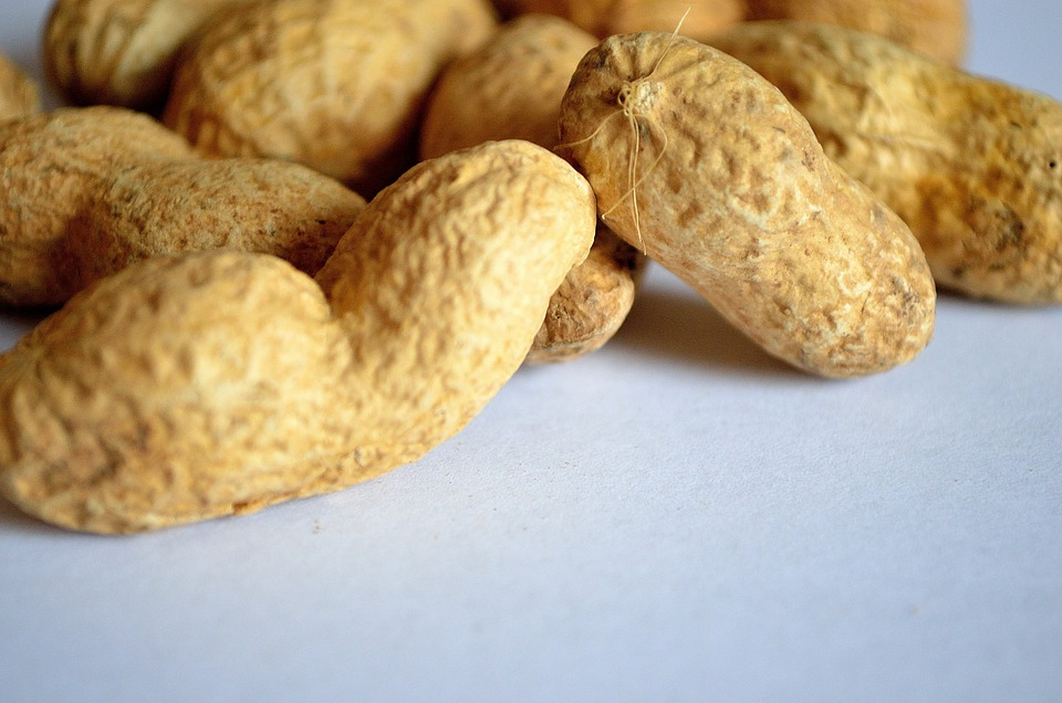 Food, Background, Health, Vitamins, Macro, Peanut